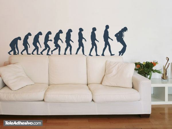 Vinilo Decorativo Evolution Jackson