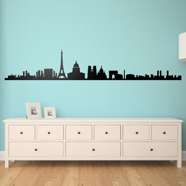 Vinilos Decorativos: Paris Skyline 0