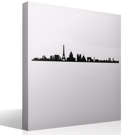 Vinilos Decorativos: Paris Skyline