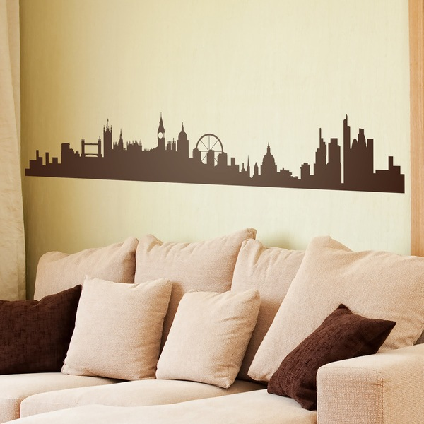 Vinilos Decorativos: Londres Skyline 0