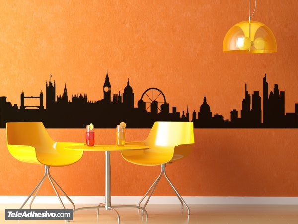 Vinilos Decorativos: Londres Skyline