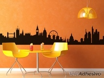 Vinilos Decorativos: Londres Skyline 2