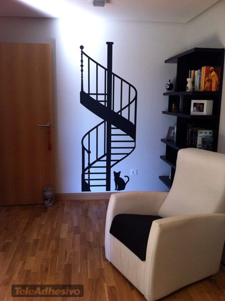 Vinilo decorativo escalera de caracol - Ver escaleras de caracol ...