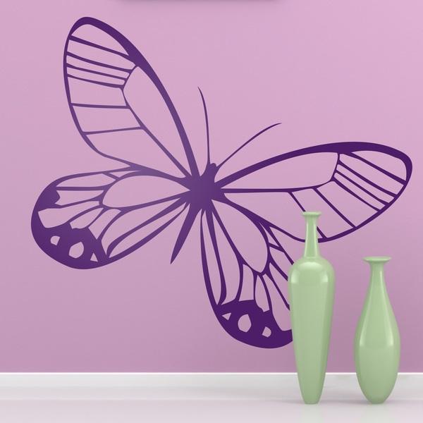 Mariposa for Vinilos mariposas