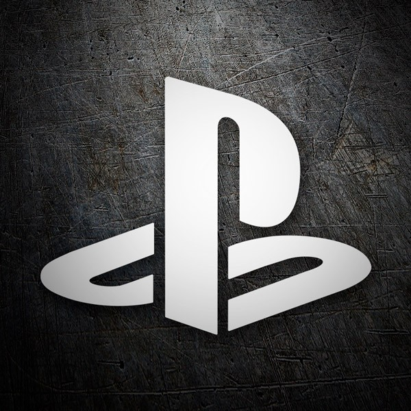 Pegatinas: Play Station 1 Logo