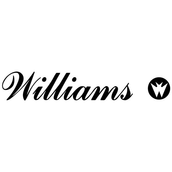 Pegatinas: Williams Entertainment Logo