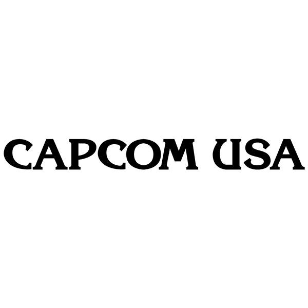 Pegatinas: Capcom USA
