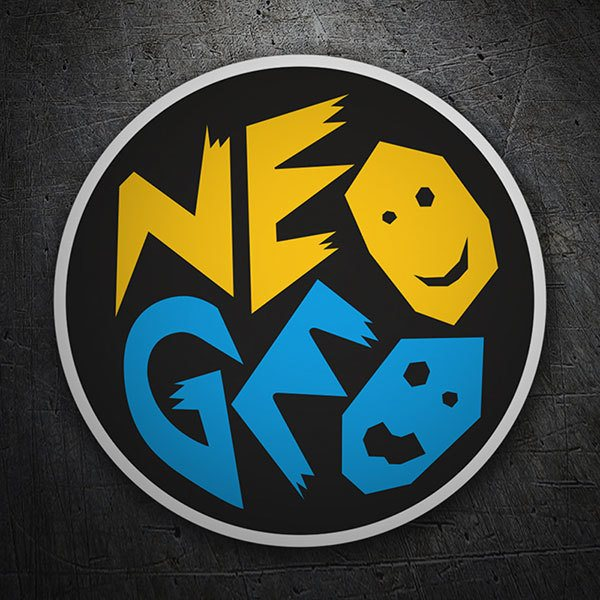 Pegatinas: Neo-Geo Faces
