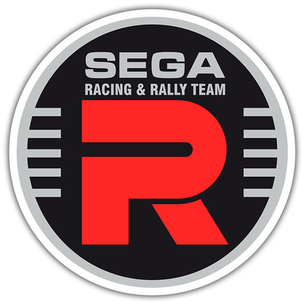 Pegatinas: Sega Racing & Rally Team