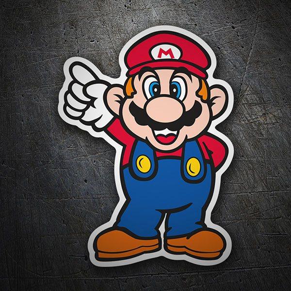 Pegatinas: Super Mario Top