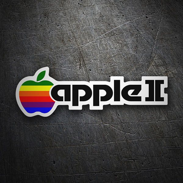 Pegatinas: Apple II