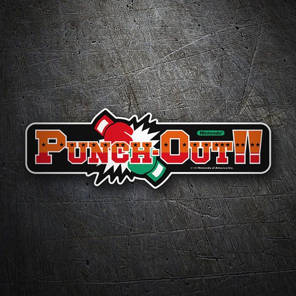Pegatinas: Punch-Out!!