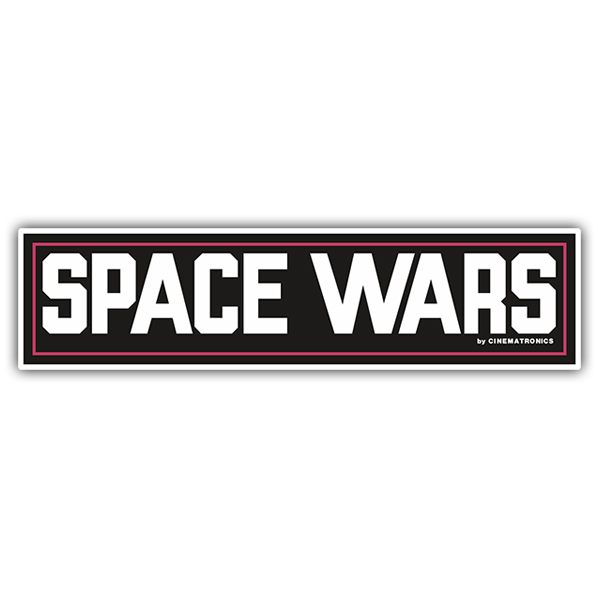 Pegatinas: Space Wars (Cinematronics)