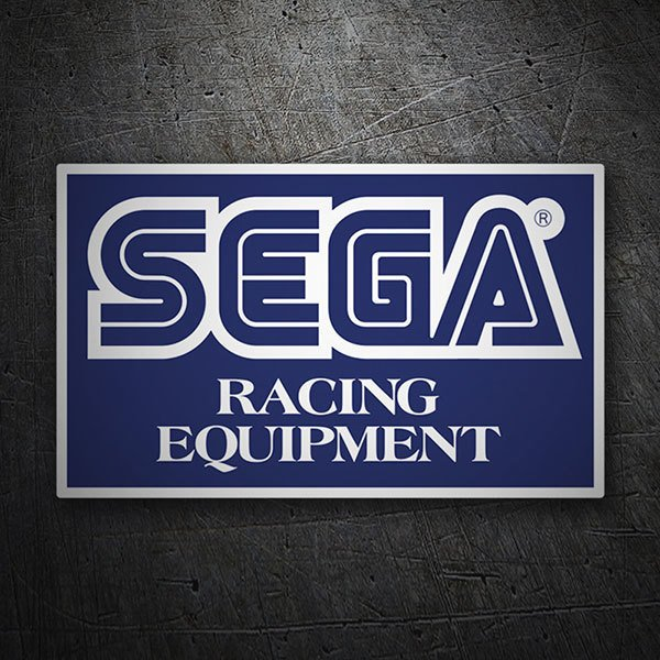 Pegatinas: Sega Racing Equipment