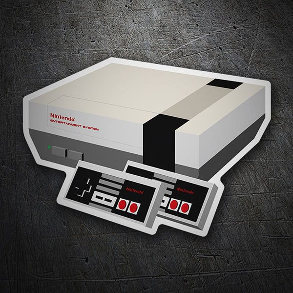Pegatinas: Nintendo Entertainment System