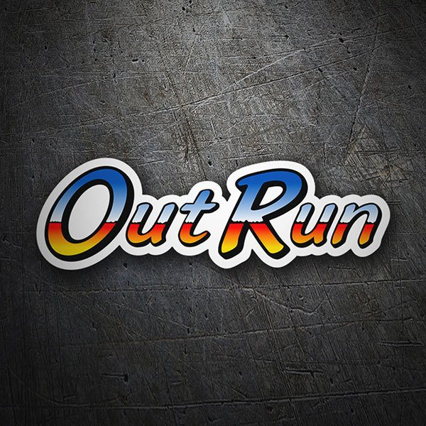 Pegatinas: Out Run