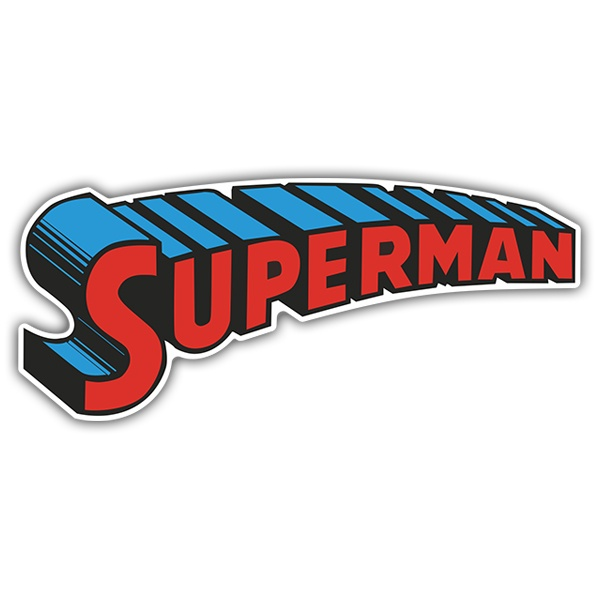 Pegatinas: Superman Arcade