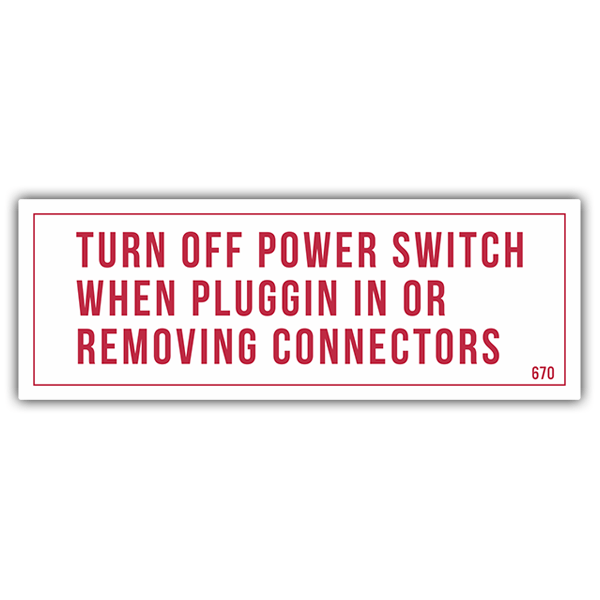 Pegatinas: Turn Off Power 0