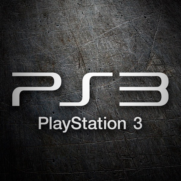 Pegatinas: Play Station 3 Logo