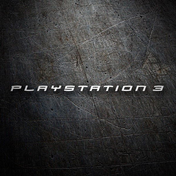 Pegatinas: Play Station 3