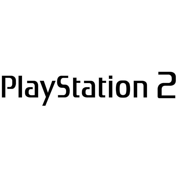 Pegatinas: Play Station 2