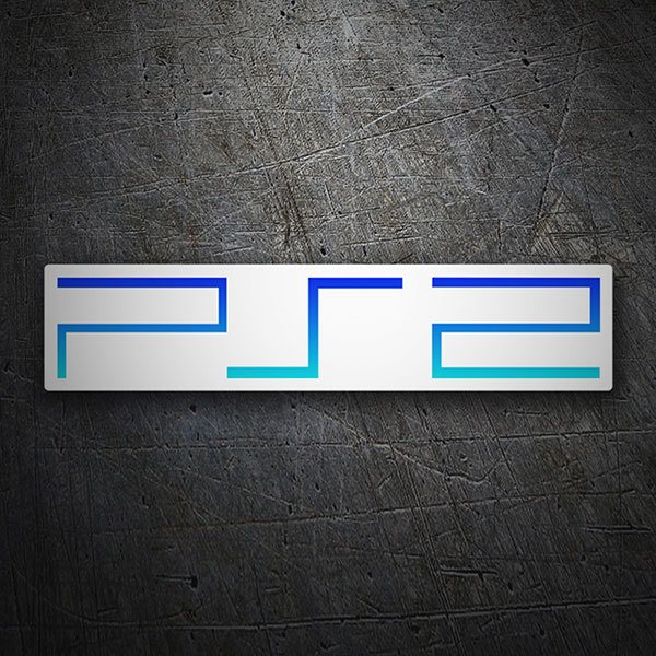 Pegatinas: PS2 - Play Station 2