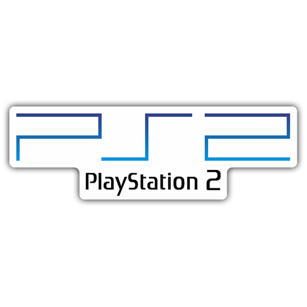 Pegatinas: Play Station 2 Logo