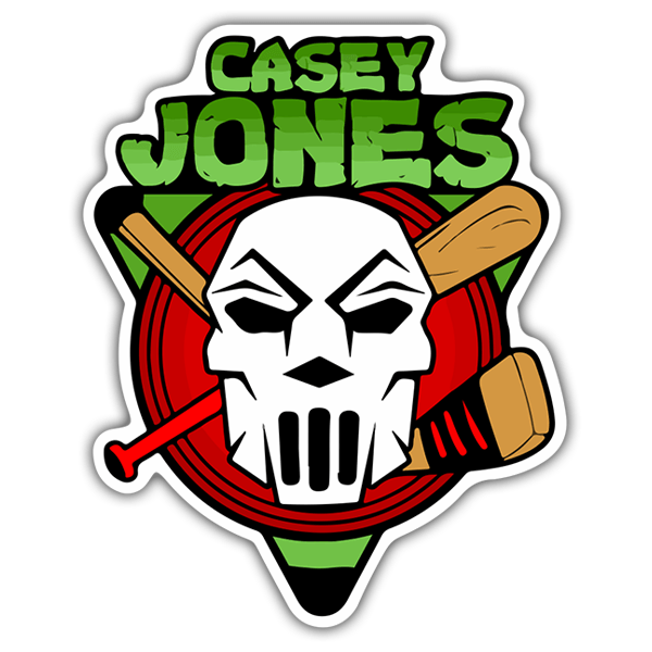 Pegatinas: Casey Jones 0