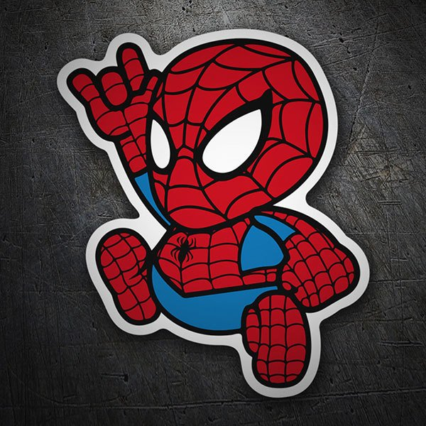 Pegatinas: Spiderman Cartoon