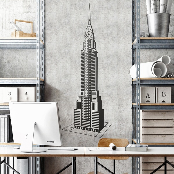 Vinilos Decorativos: Chrysler Building