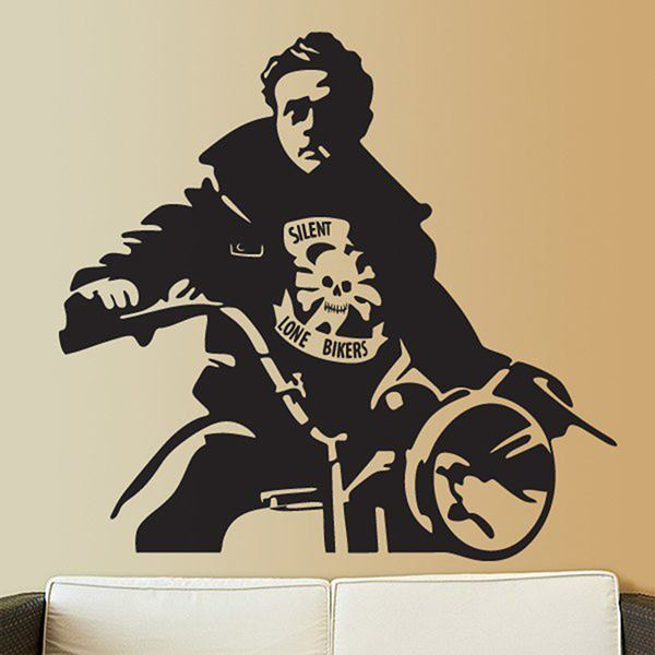 Vinilos Decorativos: James Dean Moto