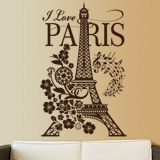 Vinilos Decorativos: I Love Paris 2