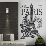 Vinilos Decorativos: I Love Paris 3