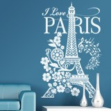 Vinilos Decorativos: I Love Paris 5