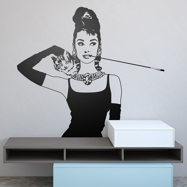 Vinilos Decorativos: Audrey Breakfast