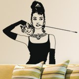 Vinilos Decorativos: Audrey Breakfast 2