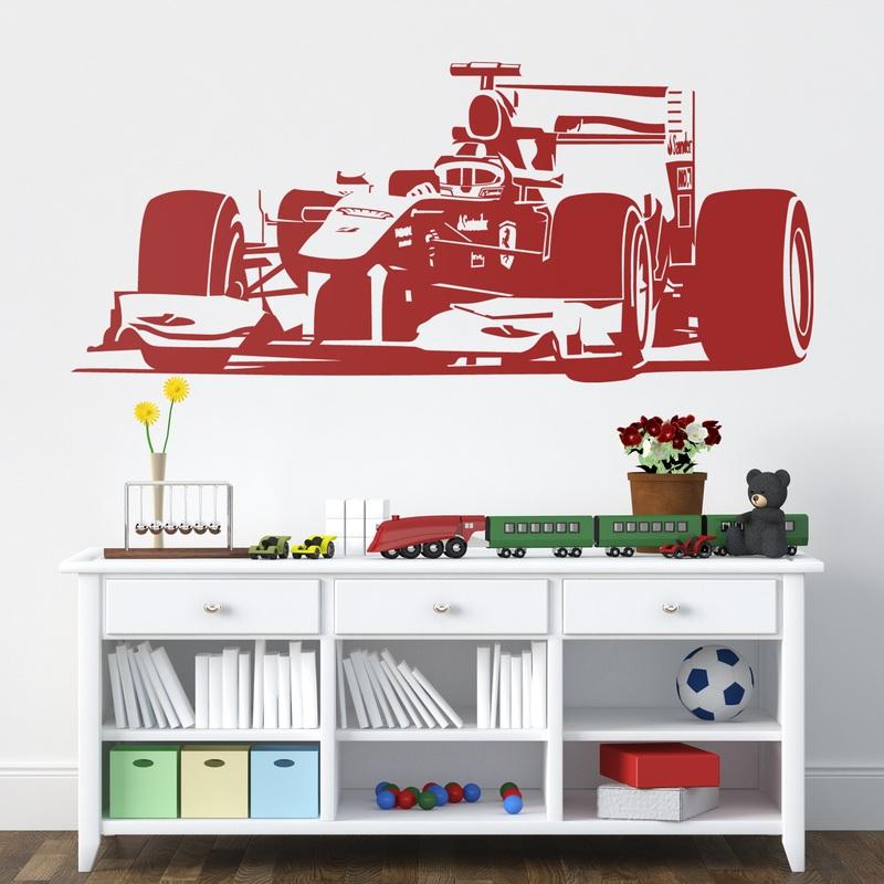 Formula 1 - Wandtattoo ferrari ...