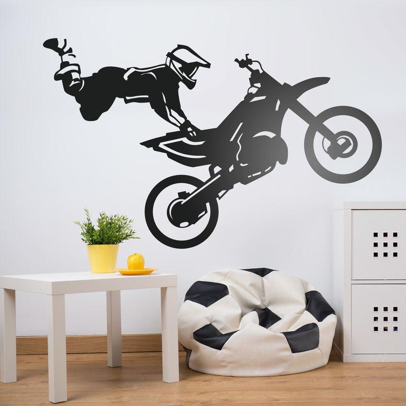 Motocross freestyle - Stickers decorativos ...