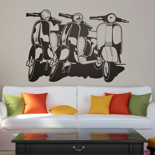 3 vespas - Teleadhesivo vinilos decorativos espana ...