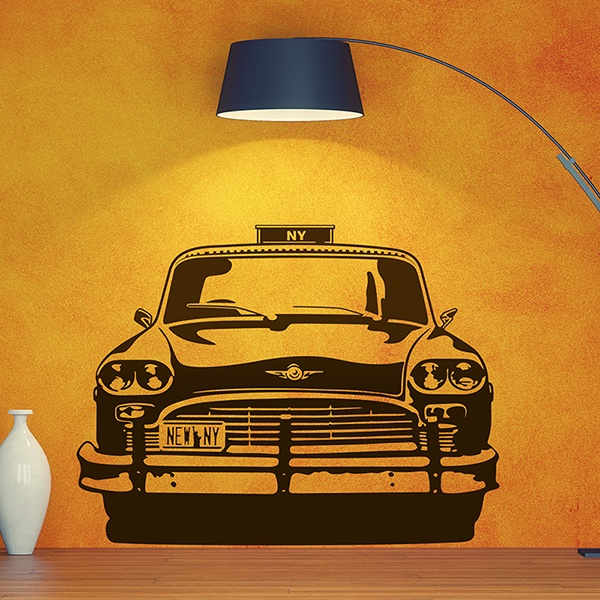Vinilos Decorativos: Checker Taxi