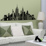 Vinilos Decorativos: Skyline New York  4
