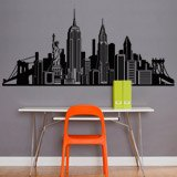 Vinilos Decorativos: Skyline New York  5