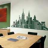 Vinilos Decorativos: Skyline New York  6