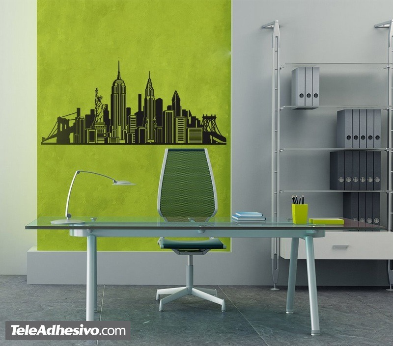 Vinilos Decorativos: Skyline New York