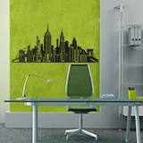 Vinilos Decorativos: Skyline New York  7