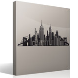 Vinilos Decorativos: Skyline New York  8