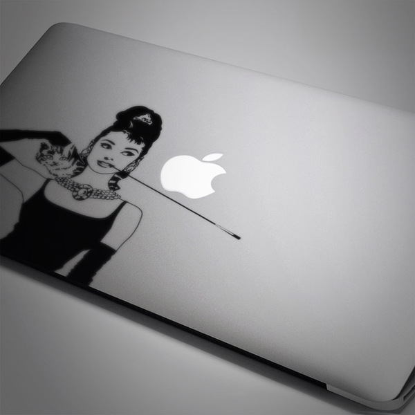 Pegatinas: Audrey Mac Book