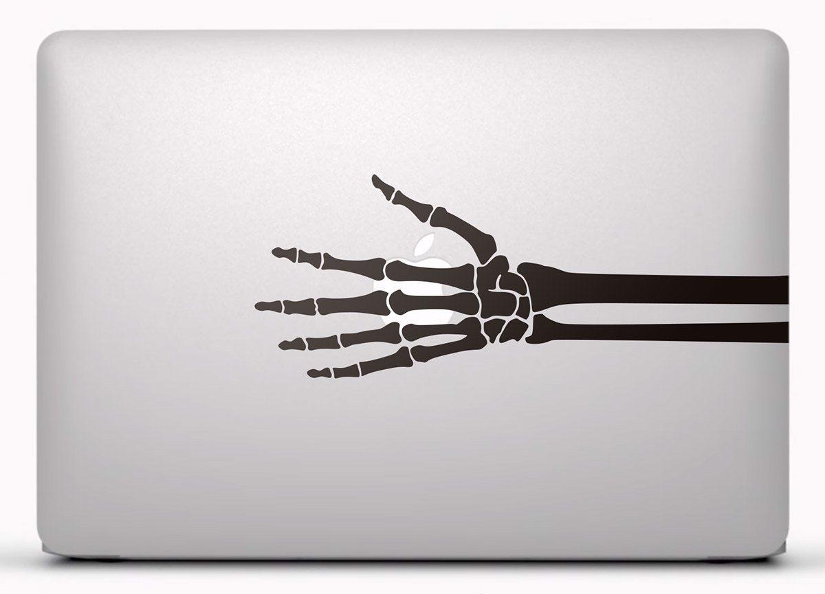 Pegatina para Macbook Esqueleto de una mano