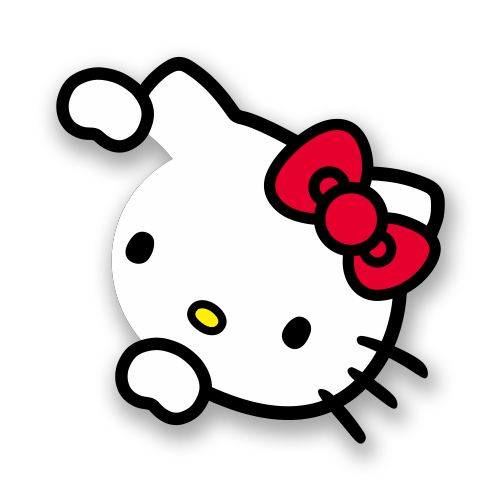 hello kitty original logo