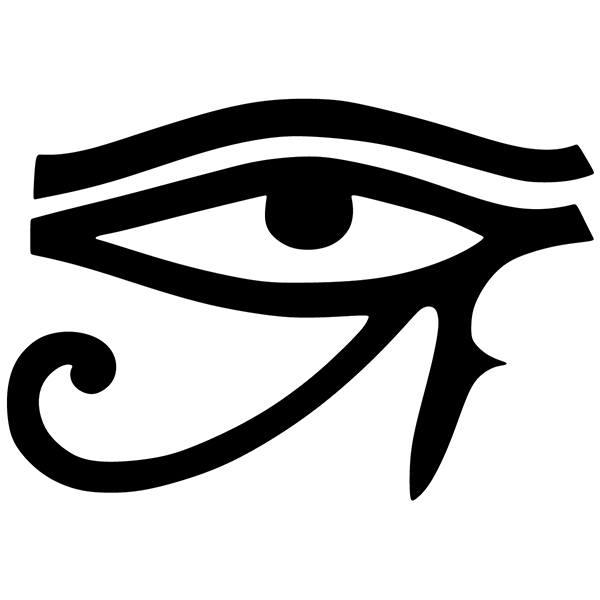Vinilo decorativo zen ojo de horus - Vinilos decorativos zen ...
